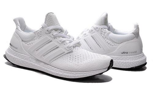 Adidas Ultra Boost Mens & Womens (unisex) All White Factory Outlet